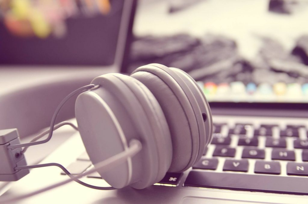 bored working from home tip 3 listen to music